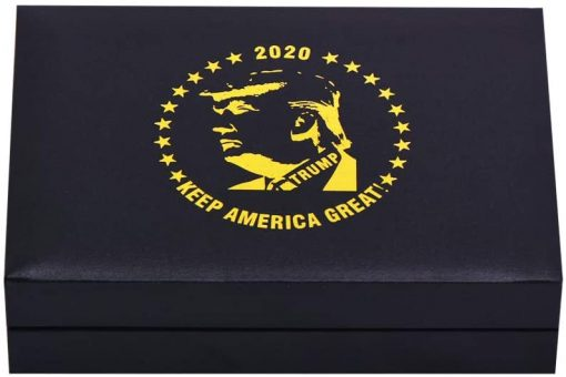 SW 5 PCS Trump 2020 Commemorative Coin, 24k Gold & Silver Playing Card for Collection,A Great Coin and Poker Collecting Gifts for Husband, Father, Friends,Fans,Father's Day and More.(Gold&Silver)