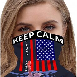 Trump Bandana Face Mask Seamless Neck Gaiter Scarf Headwear Dust UV Protection Balaclava Unisex