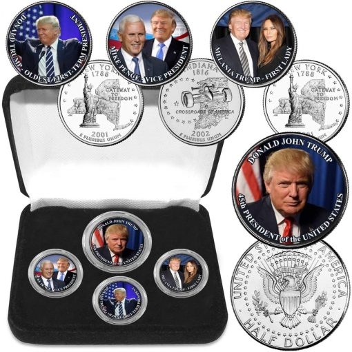 President Donald Trump Coin Collection
