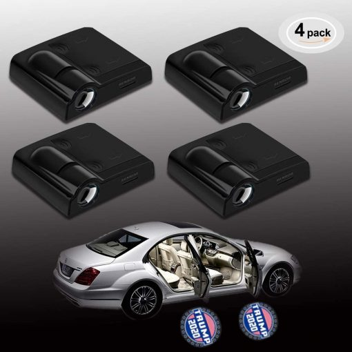 4 Pack Car Door Led Welcome Laser Projector Car Door Courtesy Light Suitable Fit for all brands of cars